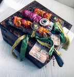 SMUDGING GIFT BOX + Set of 3 Sacred Floral Sage Sticks