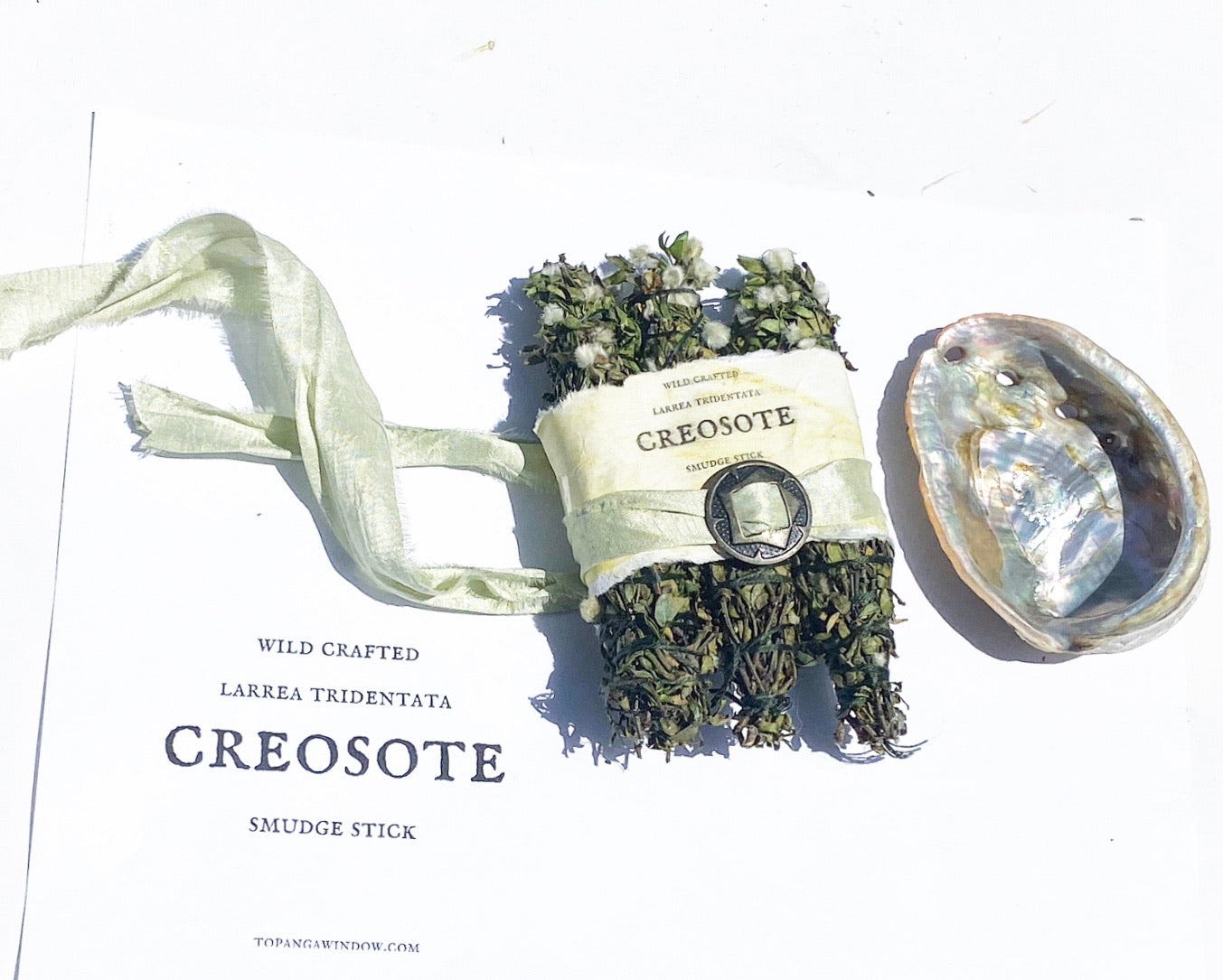 CREOSOTE SMUDGE STICKS / 3 Stick Bundle