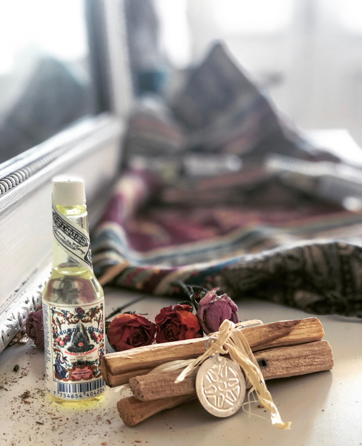 Peruvian Florida Water and Palo Santo Bundle / Travel Size/ Energy Healing