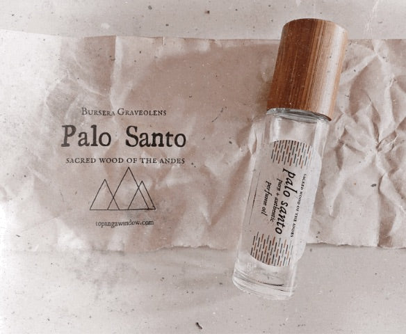 PALO SANTO PERFUME  ROLL ON