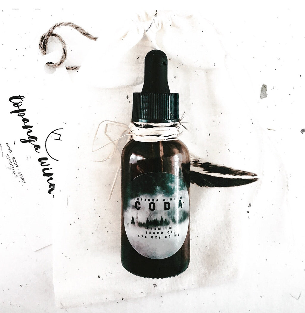 CODA PREMIUM BEARD OIL + FRAGRANCE