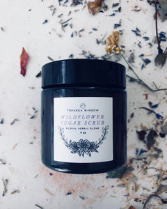 WILDFLOWER SUGAR SCRUB