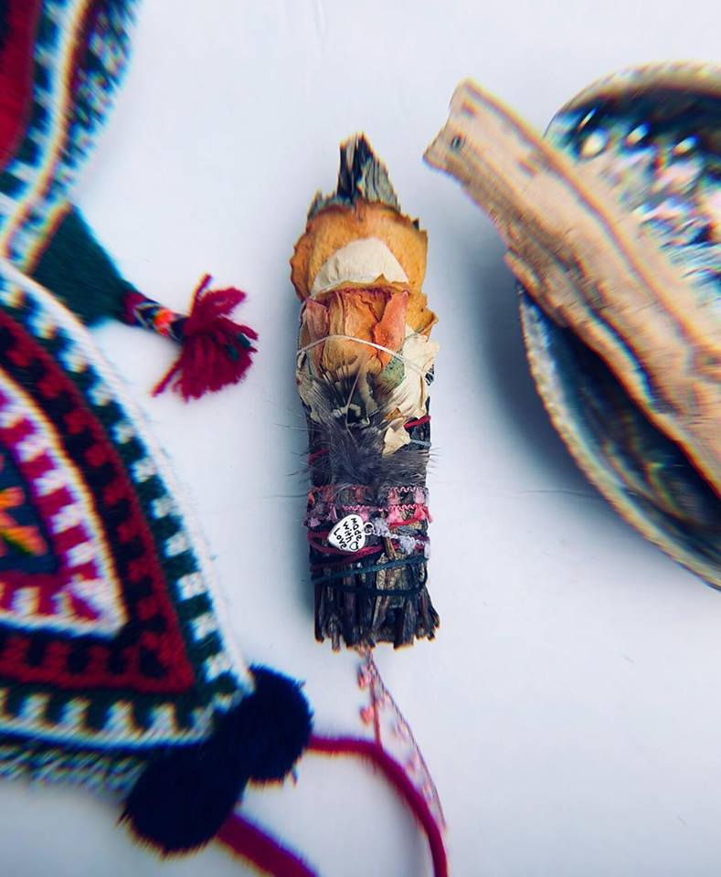 PURIFICATION KIT/ Yerba Santa + Palo Santo + Shell