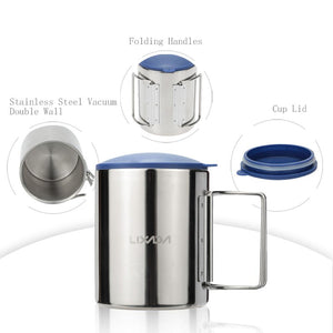 Durable Stainless Steel Travel Cup