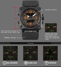 Load image into Gallery viewer, Tactical Digital Watch