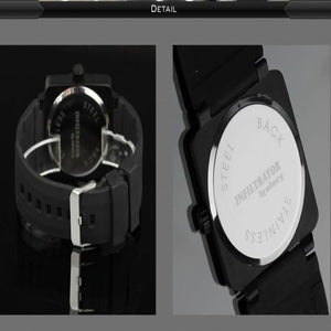 Luxury Tactical Silicone Watch
