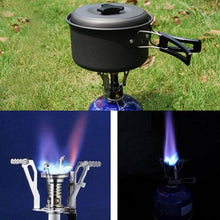 Load image into Gallery viewer, Mini Gas Camping Stove