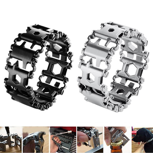 Multi-Tool 29-In-1 Bracelet/Watch Band