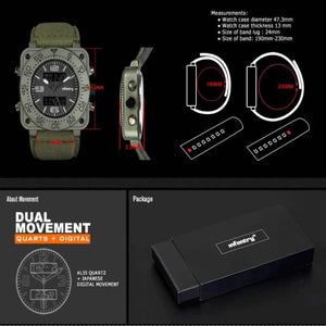 Digital LED Wristwatch