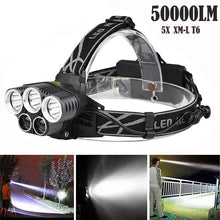 Load image into Gallery viewer, Rechargeable USB Headlamp
