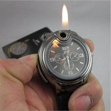 Load image into Gallery viewer, Military Watch With Lighter