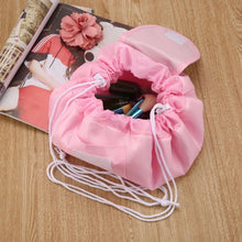 Load image into Gallery viewer, Quick Drawstring Makeup/Toiletry Travel Bag