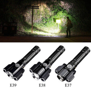 Aluminum Alloy Waterproof Flashlight
