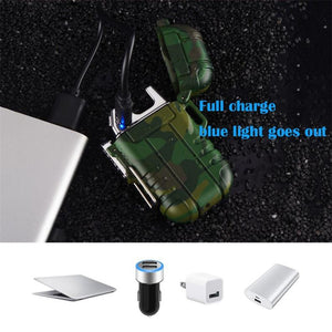 Waterproof/Windproof Lighter USB Chargeable