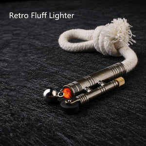 Windproof fluff Lighter