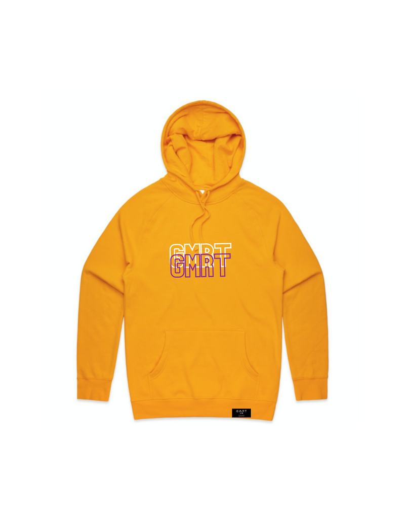 GMRT 'DOS' Premium Gold Hoodie