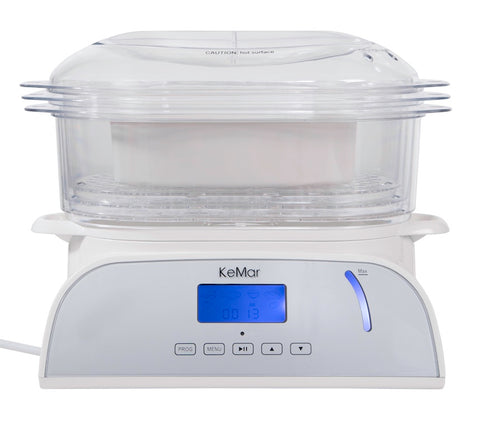 KeMar Kitchenware KFS-950 Dampfgarer mit Touch Display