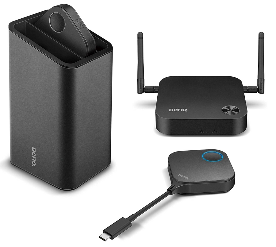 BenQ InstaShow WDC10C USB-C InstaShow™ Plug-and-Play wireless Full-HD-Präsentationen