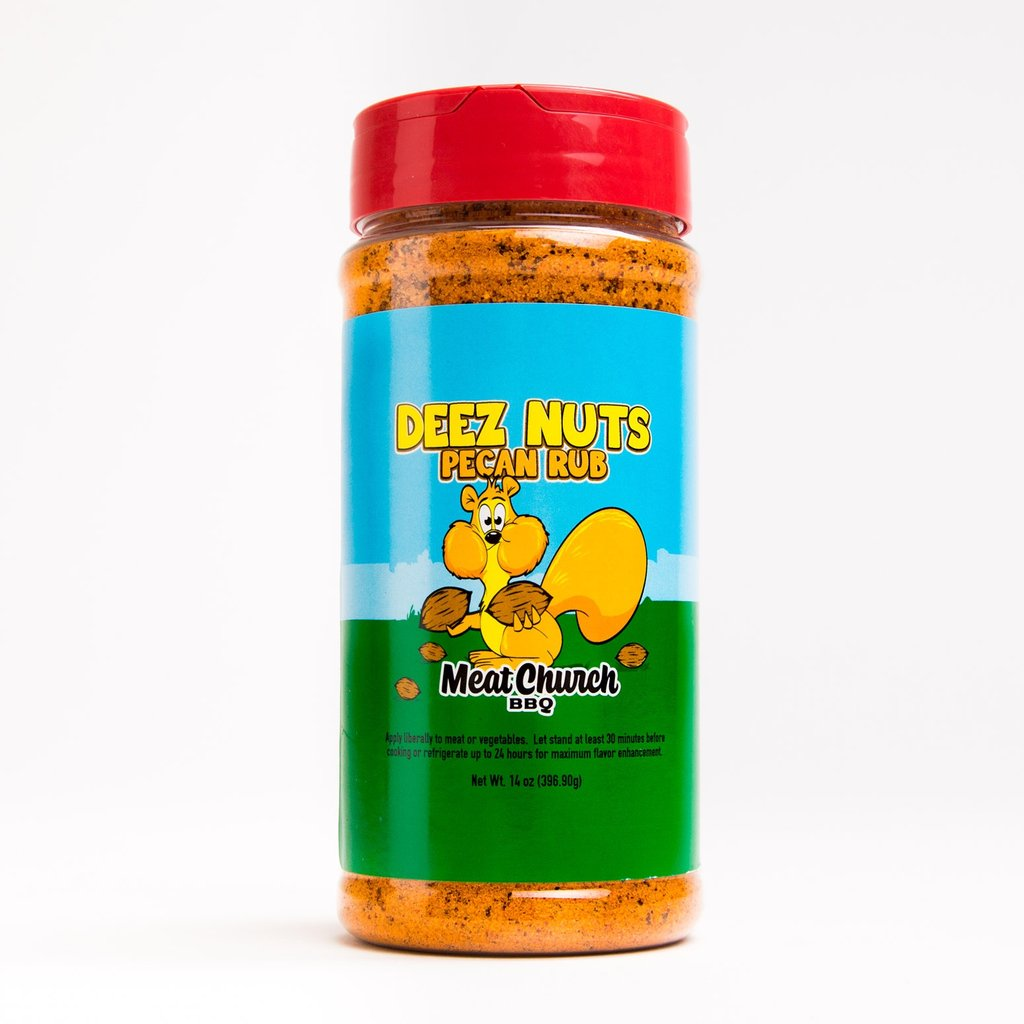 Deez Nuts Honey Pecan BBQ Rub