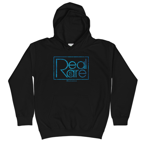 Real is Rare  - Soft Comfy Fit Kids Hoodie