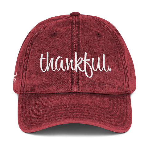 thankful - Vintage Cap