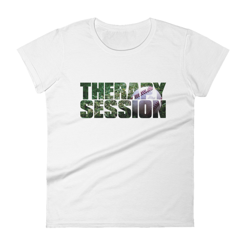 Therapy Session Baseball - Womens Fashion Fit T Shirt