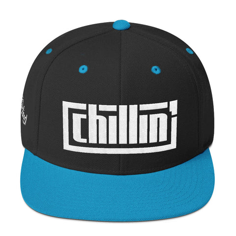 Chillin' - Flat Bill Snapback Hat