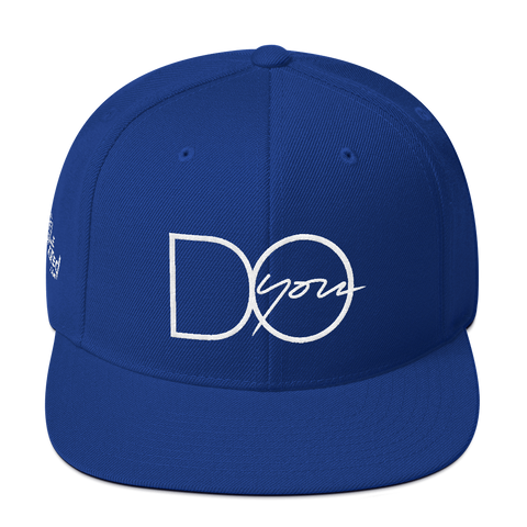 Do You - Flat Bill Snapback Hat