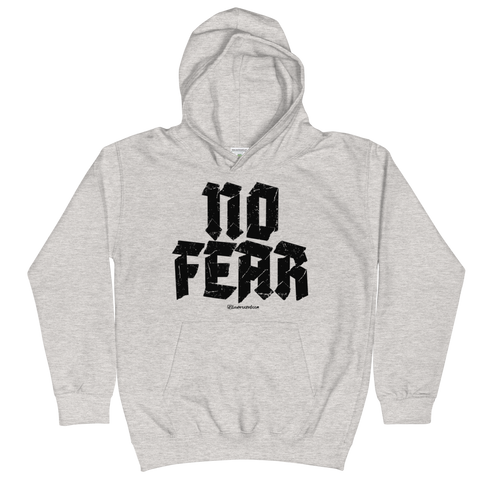 No Fear - Soft Comfy Fit Kids Hoodie