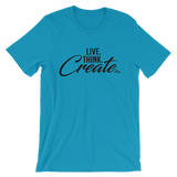 Live Think Create - Favorite Fit Adult T Shirt