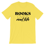 Books Over Real Life - Adult Favorite Fit T Shirt