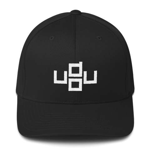 u do u - Flexfit Fitted Hat