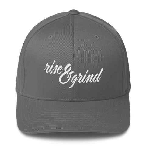 Rise & Grind - Flexfit Fitted Hat