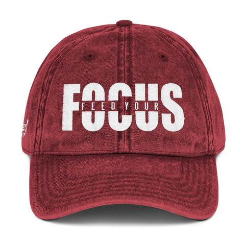 Feed Your Focus - Vintage Cap