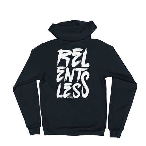 Relentless - Adult Zip Up Hoodie Soft Warm