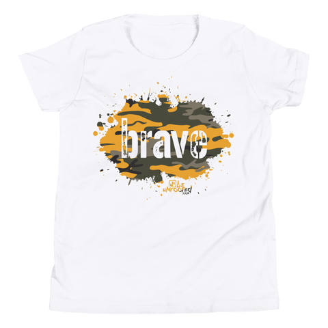 Brave Camo Yellow - Kids Favorite Fit T Shirt