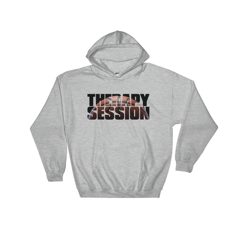 Therapy Session Basketball - Soft Comfort Fit Adult Hoodie