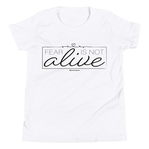 Fear Is Not Alive - Kids Favorite Fit T Shirt