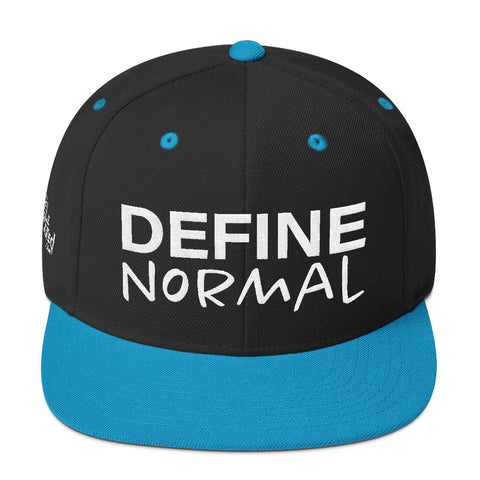 Define Normal - Flat Bill Snapback Hat