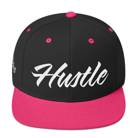 Hustle - Flat Bill Snapback Hat