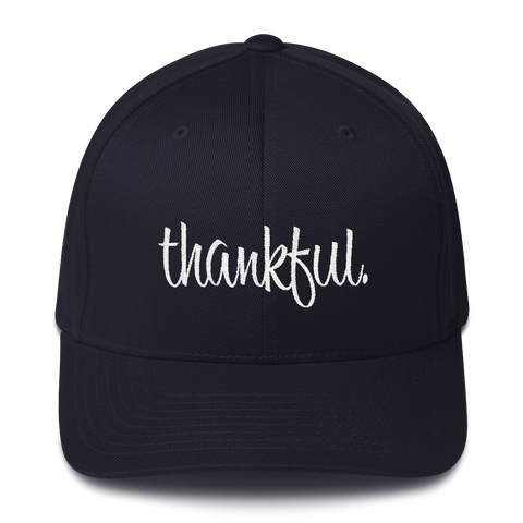 Thankful - Flexfit Fitted Hat