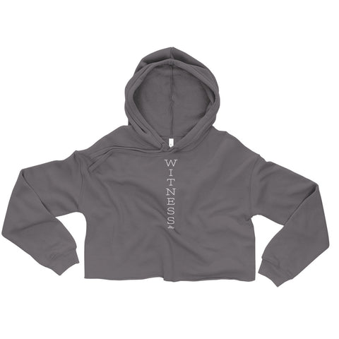Witness - Womens Cropped Super Soft Hoodie
