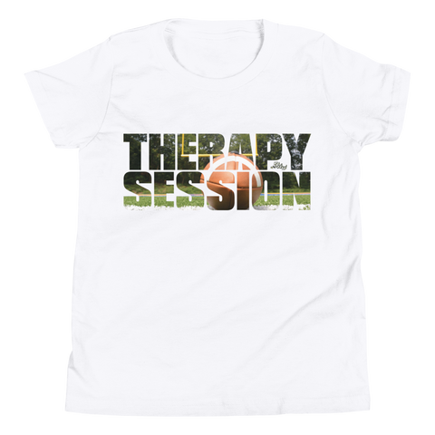 Therapy Session Football - Favorite Fit Kids T Shirt