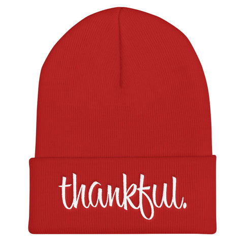 thankful - Soft Warm Beanie