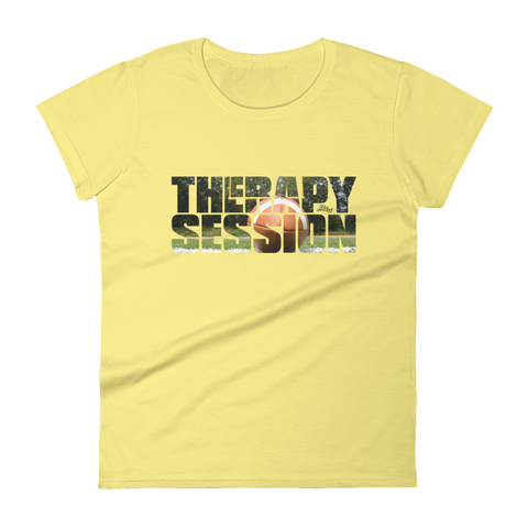 Therapy Session Football - Womens Fashion Fit T Shirt