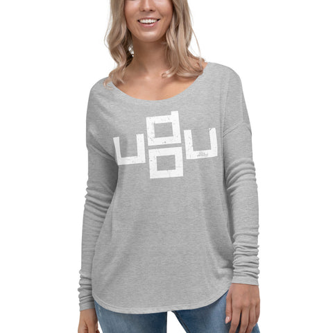u do u - Womens Soft Flowy Long Sleeve Shirt