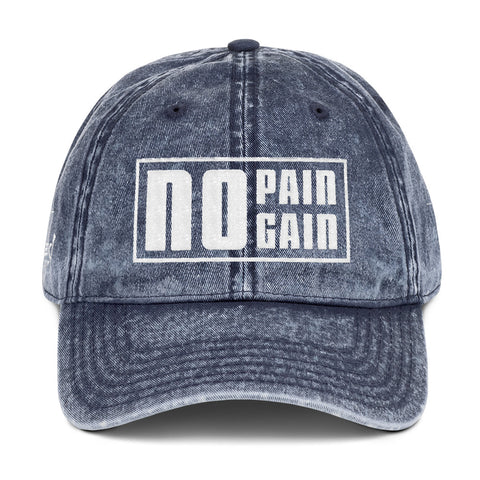 No Pain No Gain - Vintage Cap