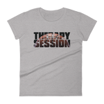 Therapy Session Basketball - Womens Fashion Fit T Shirt
