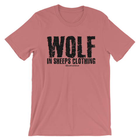 Wolf In Sheeps Clothing - Favorite Fit Adult T Shirt
