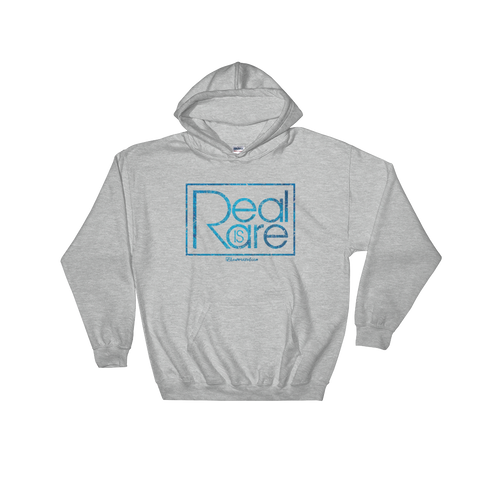 Real is Rare  - Adult Soft Comfort Fit Hoodie